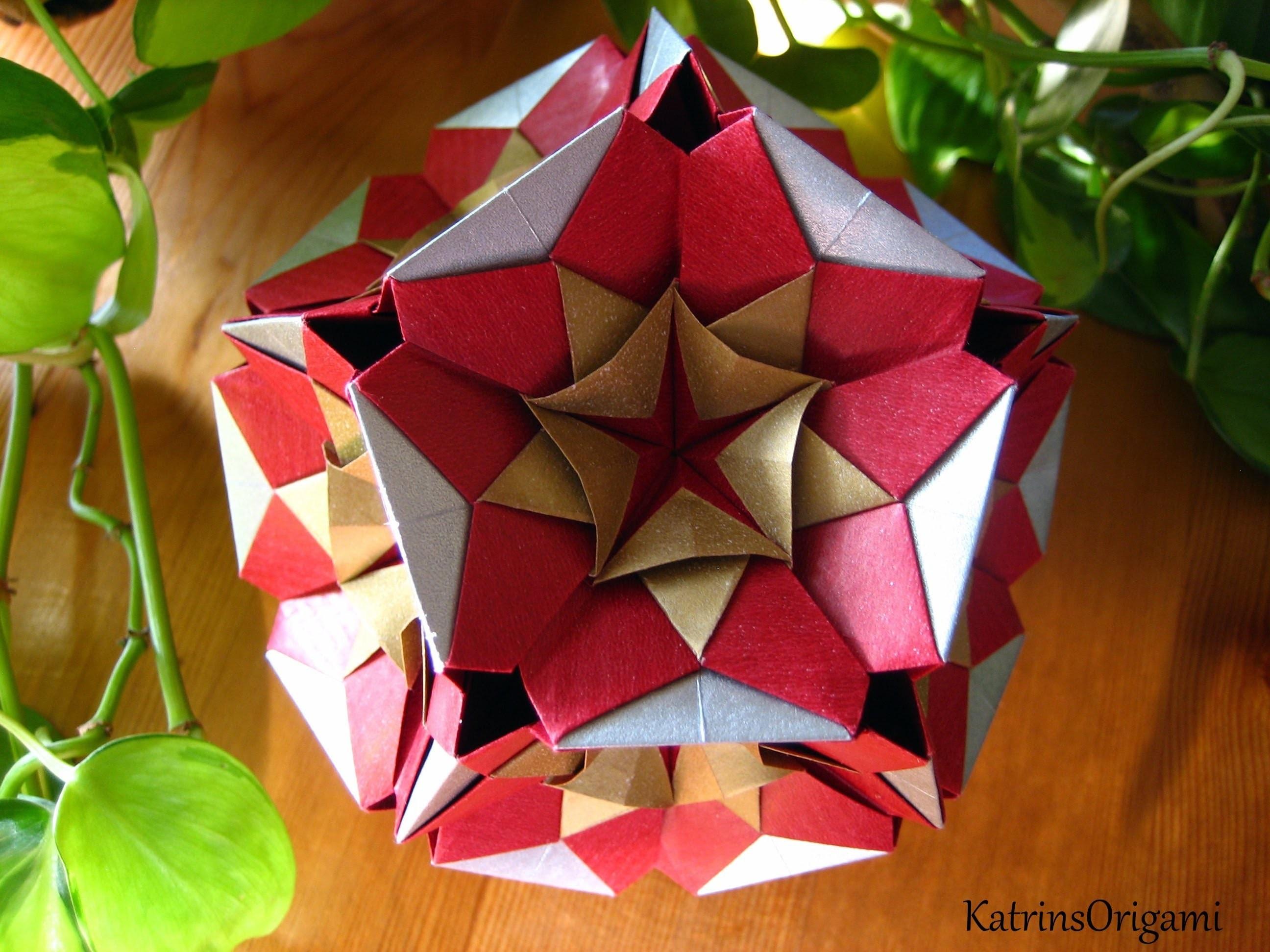 Origami ♥ Kaleidodama ♥ Kusudama