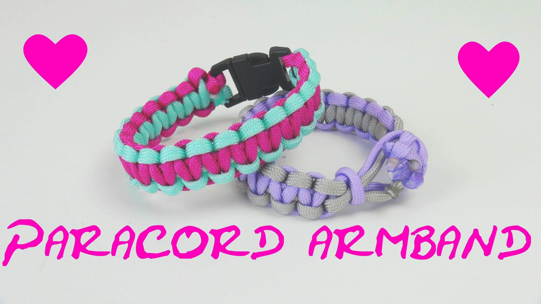 Paracord Armband Anleitung deutsch How to make a Paracord bracelet flechten DIY