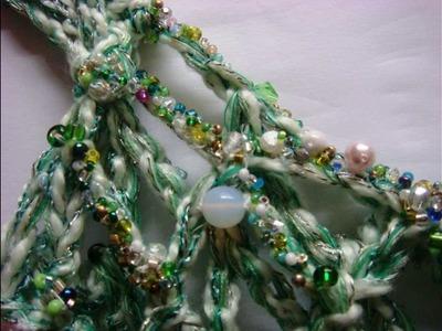 Perlen verhäkeln