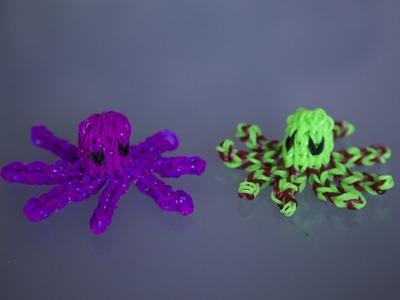 Rainbow Loom 3D - Octopus Deutsch