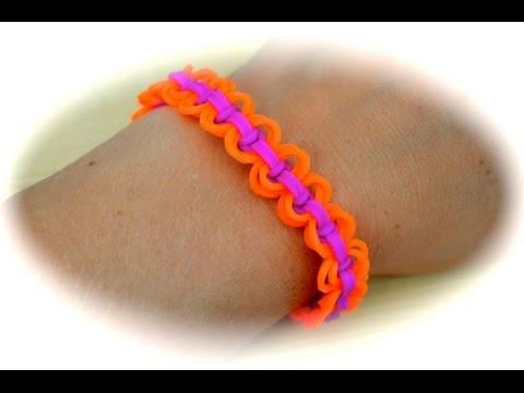 Rainbow Loom Kreis-Knoten Armband (deutsche Anleitung)