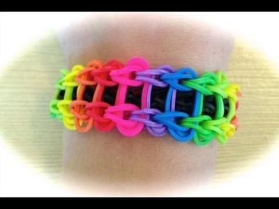 Rainbow Loom Leiterarmband (deutsche Anleitung)