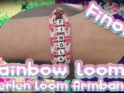 Rainbow Loom Perlen Armband Anleitung Deutsch. Loom Bands