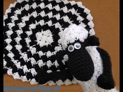 SHAUN das Schaf - Decke - Häkeldecke - Veronika Hug