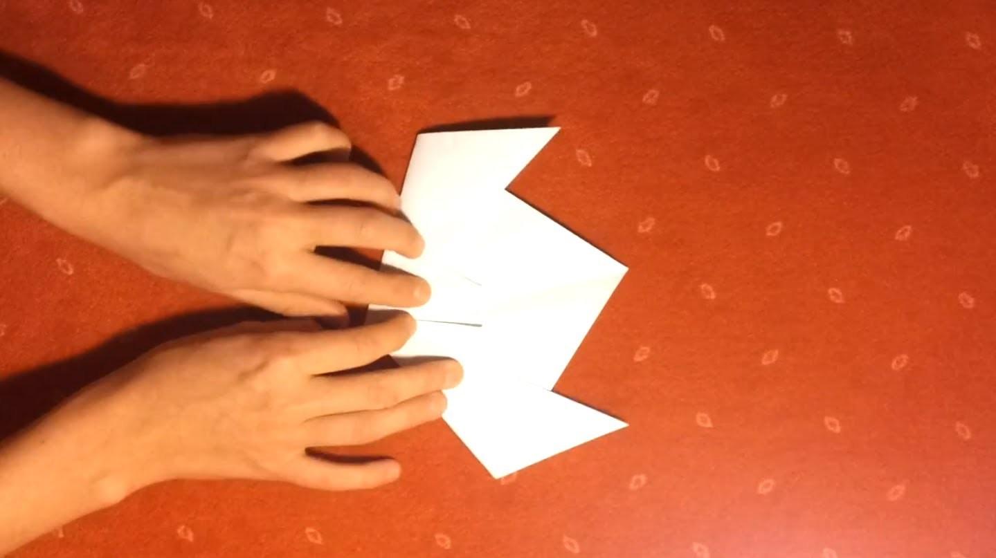 Tulpe falten aus Papier - Anleitung