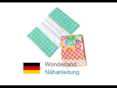 "U-Hefthülle, Mutterpasshülle ""WONDERLAND"" nähen - für Nähanfänger"