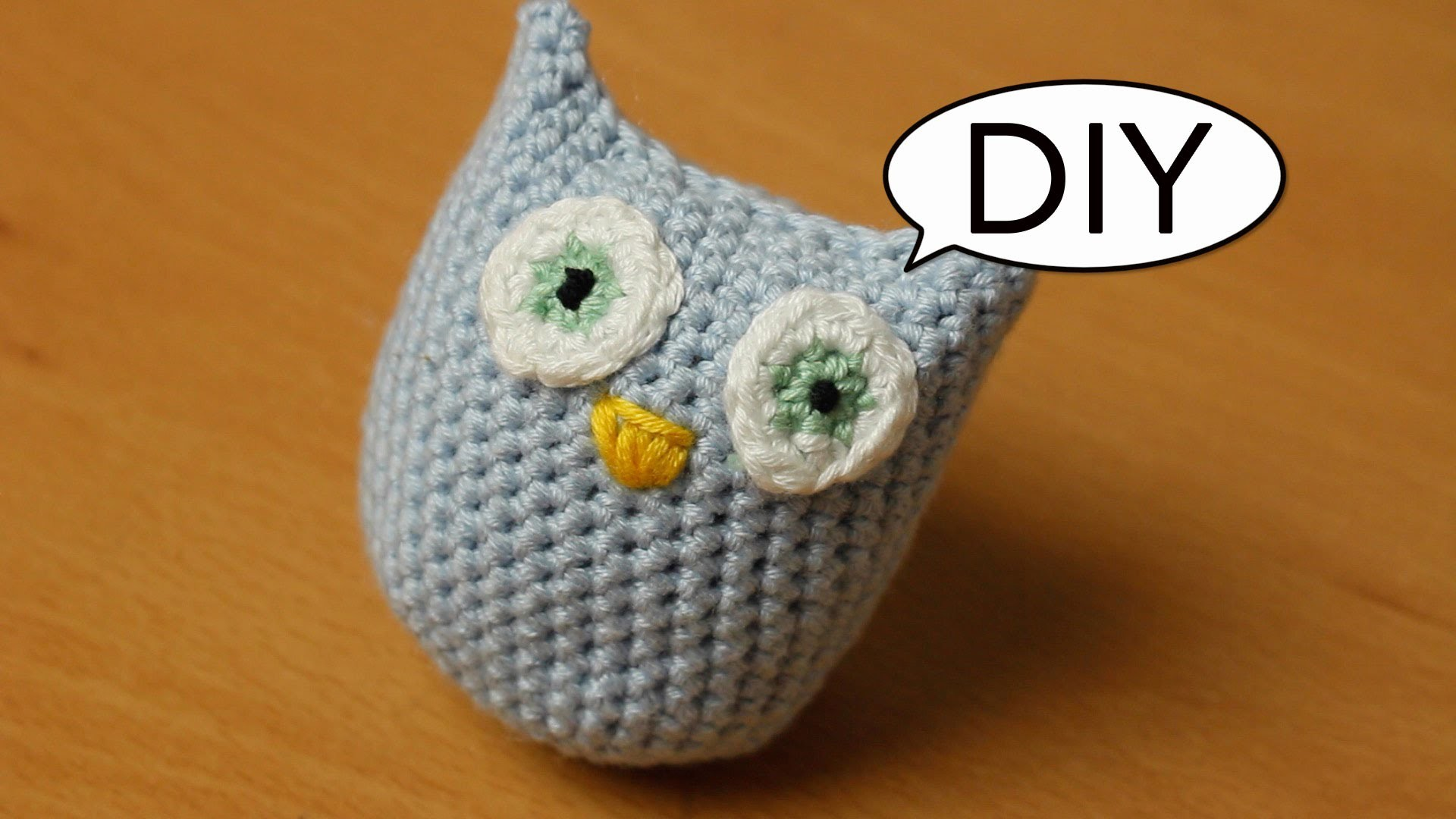Amigurumi Eule häkeln *ganz einfach* Do it yourself