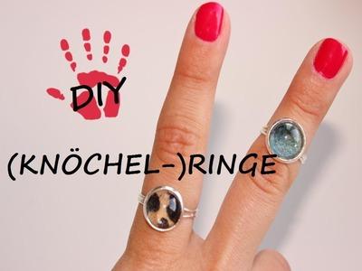 DIY- (Knöchel-)ringe selbst gestalten