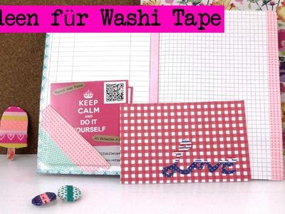 DIY Washi Tape Ideen - Kathis 5 neue Ideen mit Washi Tape Tutorials