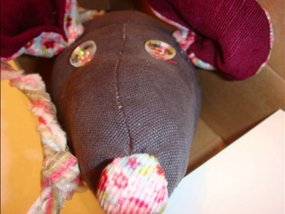 Lustige Mäuse - Nähen, Häkeln, Stoffreste, Knöpfe DIY
