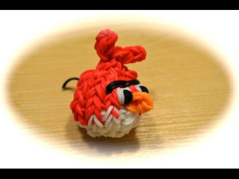 Rainbow Loom Angry Bird (deutsche Anleitung)
