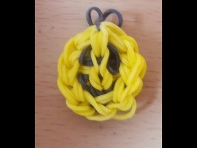 Rainbow Loom Bands Anleitung deutsch - Smiley - Rubber Bandz happy face charm