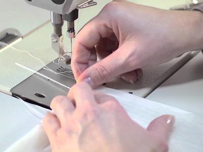 Schulungsvideo Gardinenband - Flachfaltenband