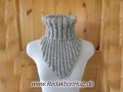 Stricken - Keil-Kragen - Schal aus Teramo von Pro Lana Teil 2