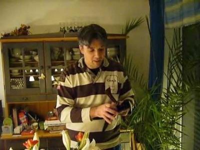 Basteln für Weihnachten mit Filz and more - Handy Ladetasche (1)