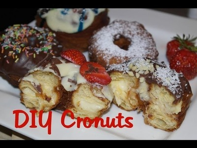 Cronuts Rezept -Wie backe ich Cronuts! DIY Cronuts! Cronuts Video Recipe ! Cronut Rezept