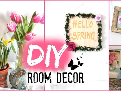DIY Frühlings-Deko ganz einfach selber machen❤ #diymitsarah