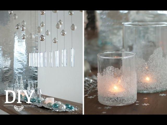 diy silvester deko mit geeisten windlichtern selber machen deko kitchen. Black Bedroom Furniture Sets. Home Design Ideas