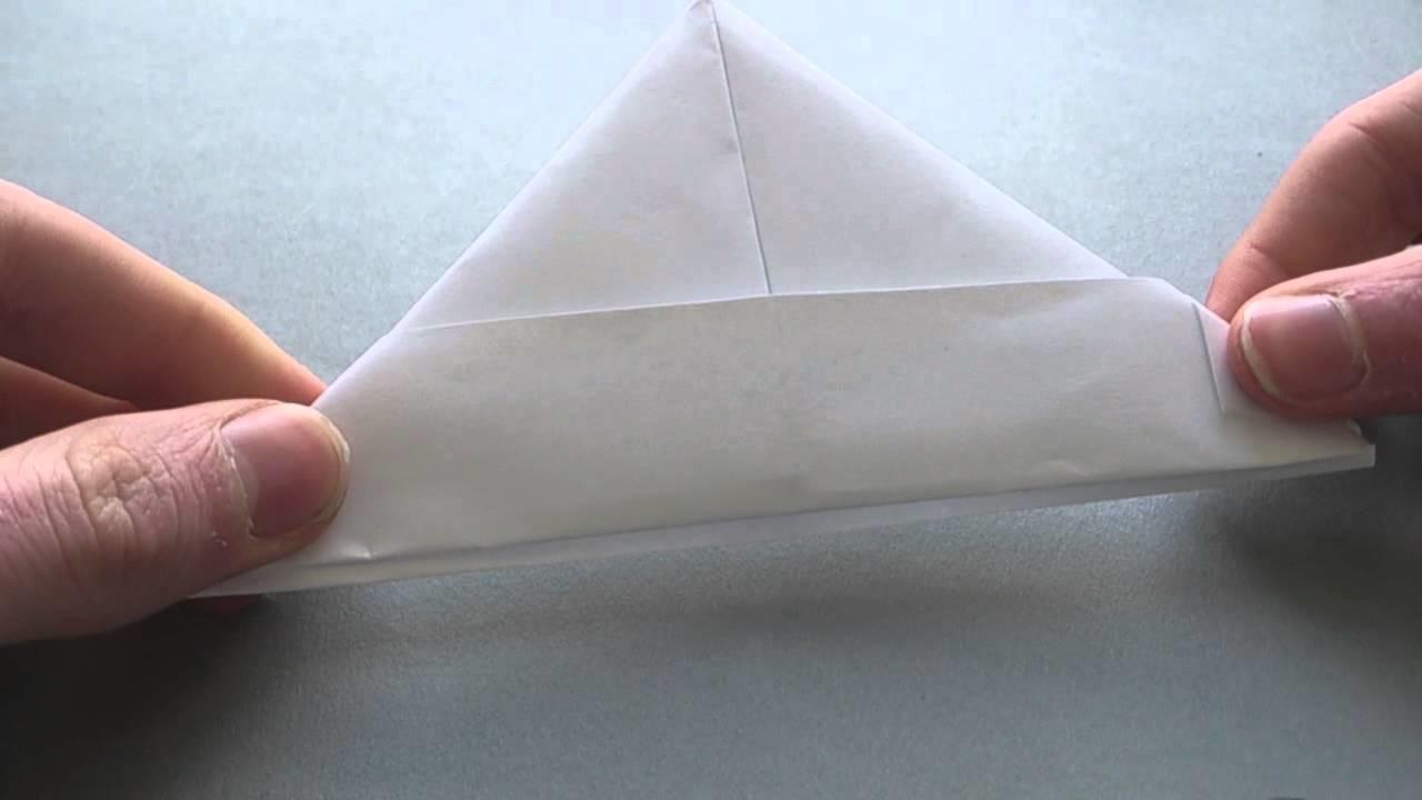 Origami: Hut aus Papier falten - wie man einen Hut aus Papier basteln kann
