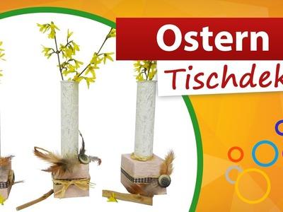 ♥ Ostern Tischdeko basteln ♥ Tischdekoration selber machen - trendmarkt24