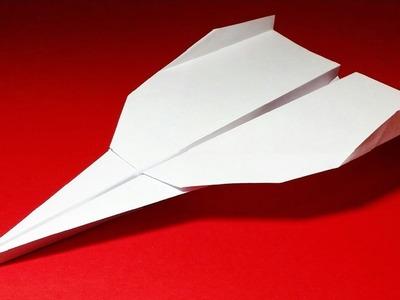 Papierflieger falten - Basteln - Papier falten - Beste Papierflieger der Welt - Rekord | Grey