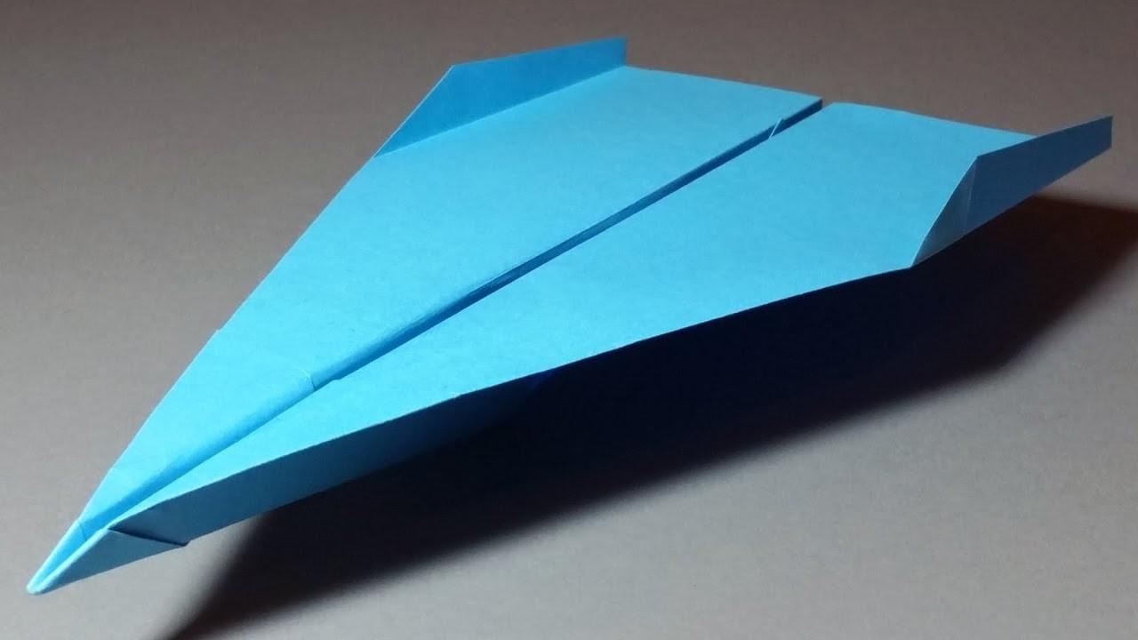 Papierflieger falten - Basteln - Papier falten - Beste Papierflieger - Weltrekord | Stolen Dance