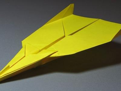 Papierflieger falten - Basteln - Papier falten - Beste Papierflieger der Welt - Rekord | Crystalised