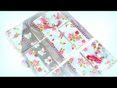 Pocket Letter basteln - DIY Bastelideen Basteln mit Papier Kinder Youtube Kindervideo
