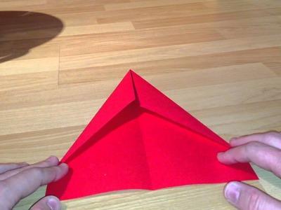 Tutorial: Papierflieger bauen. Papierflieger falten. Papierflieger basteln