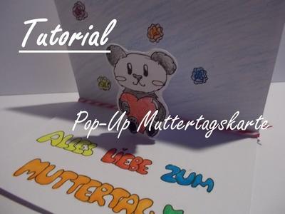 [Tutorial] Pop-Up Karte für Muttertag {mittelschwer}