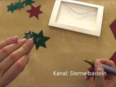 Weihnachtskarten basteln - Weihnachtsgeschenke selber machen