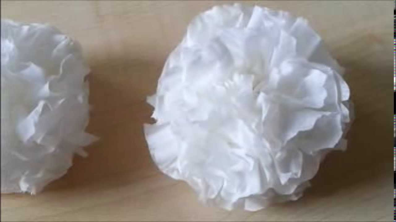 Wie zaubert man aus einem Taschentuch eine BLUME ?
