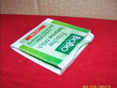 Aus einem Tetrapack ein Portemonnaie basteln (HD)