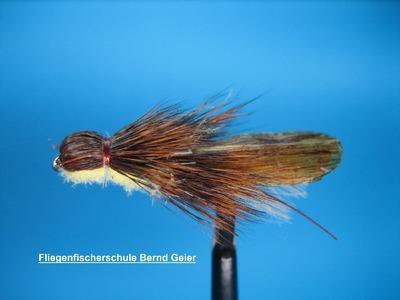B.G. CDC- Rehhaar- Steinfliege Perla, CDC- Deerhair- Stonefly Perla