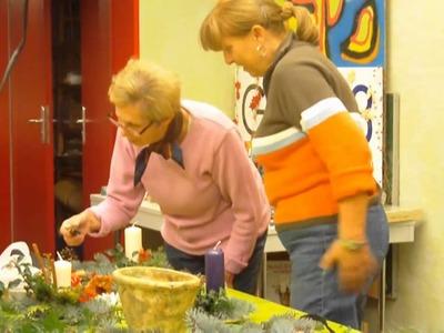 Das Weihnachtsbasteln in der Kreativwerkstatt des GLEIS 3 vom 24.11 - 25.11.2010