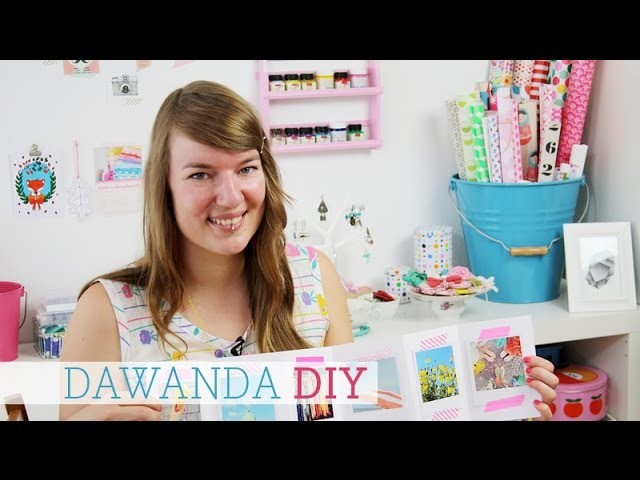dawanda diy fotoalbum selber machen. Black Bedroom Furniture Sets. Home Design Ideas