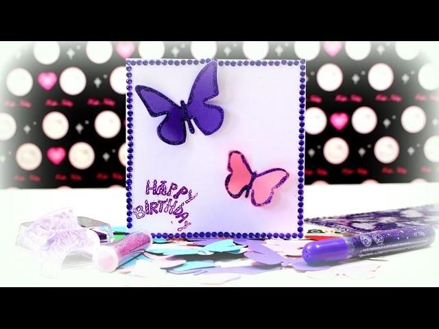 DIY Bastelideen - Karten basteln Geburtstagskarte Kinderkanal