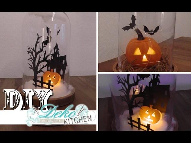 DIY: Halloween-Mini-Kürbis-Spukhaus für Kinder selber machen | Deko Kitchen