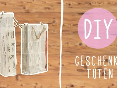 DIY mit Nina: süße Geschenktüte zum Verschenken!