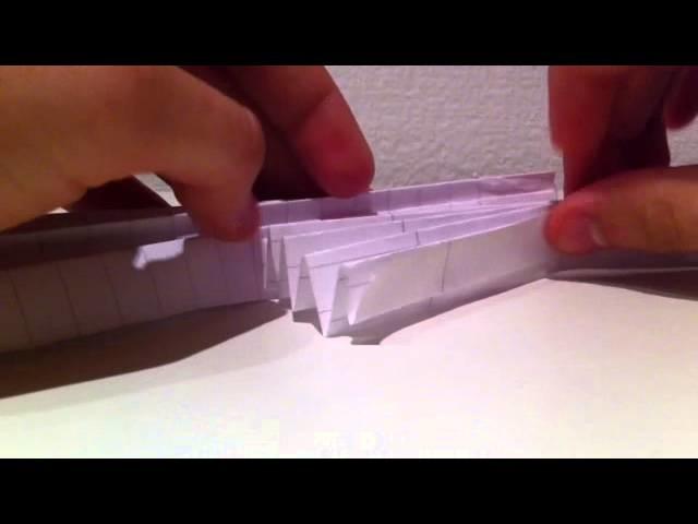 Engel aus Papier basteln. Papierengel falten