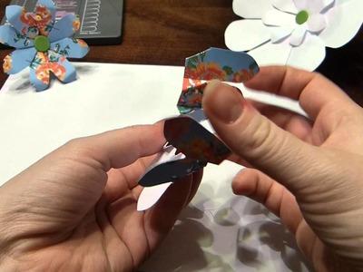 Flower Punch Board von We R Memory Keepers: Blüten basteln