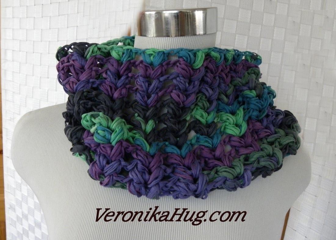 Häkeln - Loop - Woolly Hugs BANDY 07 - Veronika Hug