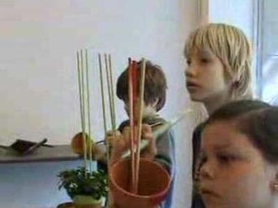 Kinderkurs zum Muttertag bei Blumen Maarsen 1