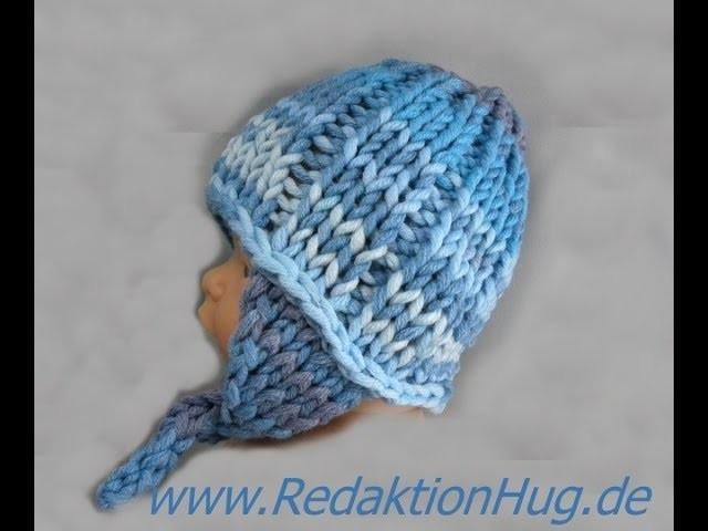 Knooking - Babymütze aus der Montego von ONline-Garne