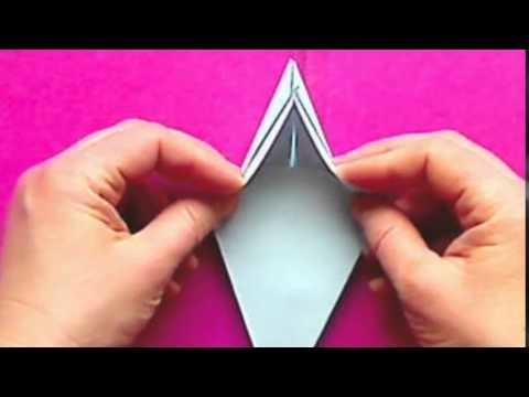 origami blumen falten seerose und lilie. Black Bedroom Furniture Sets. Home Design Ideas