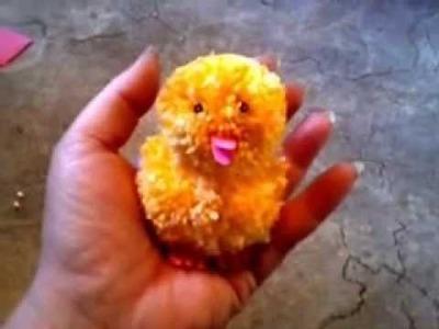 Ostern : Kuscheliges Küken aus Wolle
