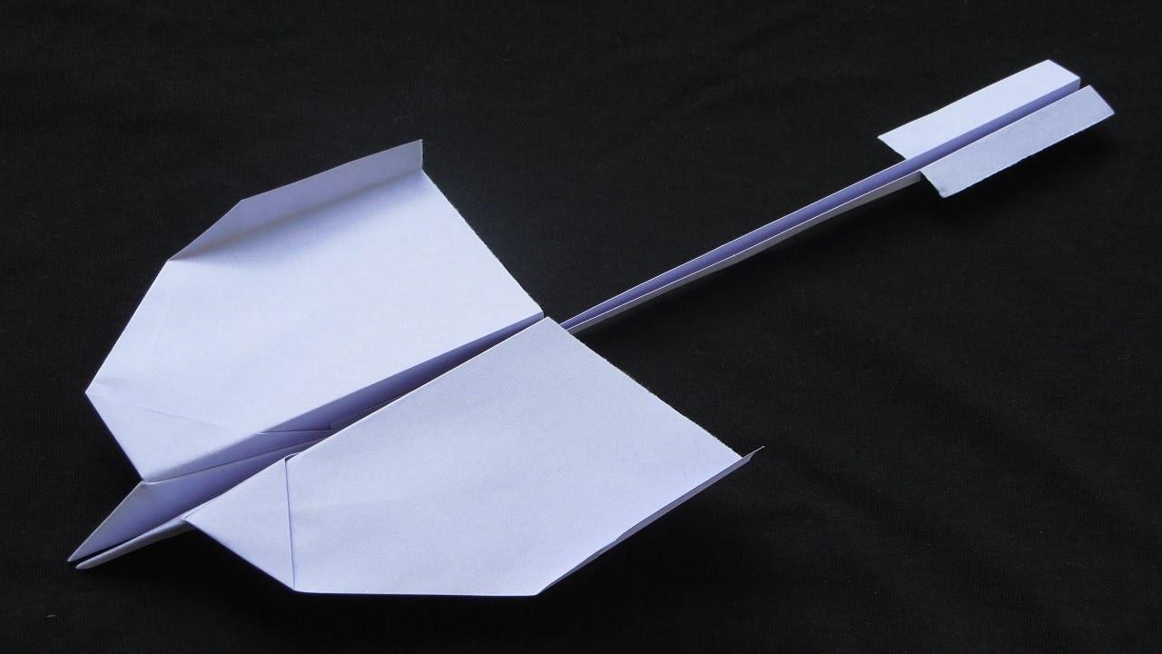 Papierflieger falten - Basteln - Papier falten - Beste Papierflieger der Welt - Rekord | Nevermind