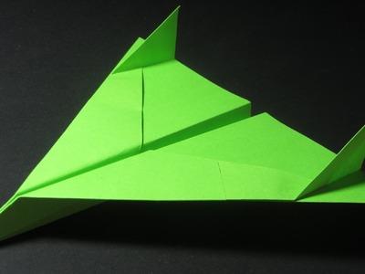 Papierflieger falten - Basteln - Papier falten - Beste Papierflieger der Welt - Rekord | Vision