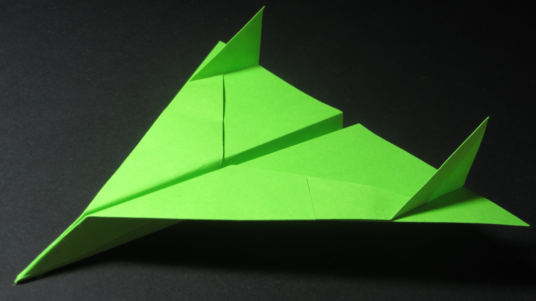 Papierflieger falten - Basteln - Papier falten - Beste Papierflieger der Welt - Rekord   Vision