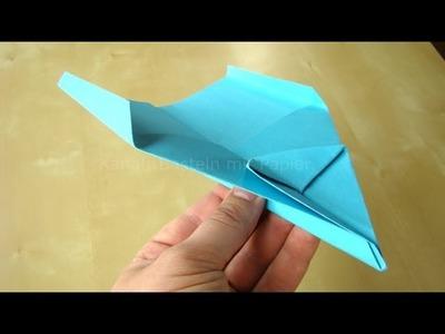 Papierflieger falten - Einfache Faltanleitung